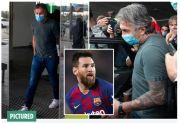 Tiba di Barcelona, Ayah Messi Bungkam Ditanya Wartawan