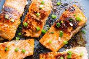 Yuk, Nikmati Sajian Sehat: Salmon Panggang Rendah Kalori