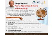 Riset Sejarah, 4 Mahasiswa Terima Professor Azyumardi Azra Scholarship