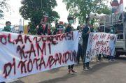 Gelar Unjuk Rasa, Aliansi Masyarakat Cipayung Tolak Deklarasi KAMI di Bandung