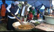 Pantau Dapur Umum Klaster Ponpes Darussalam, Khofifah Sampaikan Ini
