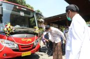 Luncurkan Trans Jateng, Ganjar Ingin Sistem Transportasi Bagus Tapi Murah