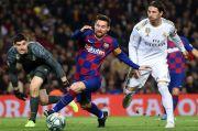 Sergio Ramos Harap Messi Bisa Bertahan di Barcelona