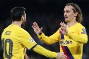 Antoine Griezmann Ngarep Lionel Messi Bertahan Lama di Camp Nou