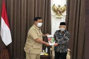 Prabowo-Maruf Amin Bertemu Bahas Pembangunan Food Estate