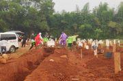 Lahan Makam Covid di TPU Pondok Ranggon hanya Tersisa 1.100 Petak