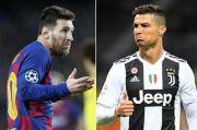 Pernah Bernasib Sama, Ronaldo Tantang Messi ke Italia