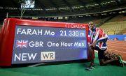 Mo Farah Pecahkan Rekor Dunia Lari 1 Jam 21,330 Km