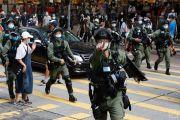 Polisi Hong Kong Tangkap 300 Demonstran