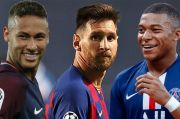 PSG Ingin Jadikan Lionel Messi Trisula Mematikan