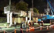Pembongkaran JPO Bank Indonesia Ditarget Tuntas 20 September 2020