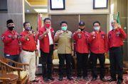 HD Terima Audiensi Pengurus DPD Pemuda Batak Bersatu Sumsel