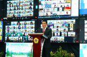 HD Hadiri PKKMB Dan Pelantikan 7728 Mahasiswa Baru