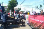 Warga Sukomulyo Demo PT KAS Minta Serapan Tenaga Lokal