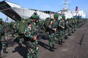 450 Prajurit Yonif 407/PK Tegakkan Kedaulatan NKRI di Perbatasan RI-Malaysia