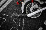 Hilang Kendali dan Tabrak Pembatas Jalan, Pengendara Motor Tewas di Tempat