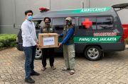 Indika Foundation Serahkan Bantuan 50.000 Masker ke NU Care-LAZISNU