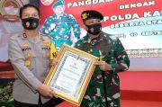 Kapolda Kalsel dan Pangdam VI/Mulawarman Sinergi Amankan 3 Agenda Prioritas
