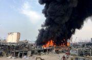 Kebakaran Besar Dilaporkan Terjadi di Lokasi Ledakan Beirut
