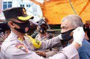 Ribuan Masker Disebar di Parepare untuk Dukung Pewali Protkes