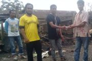 Korban Kebakaran Enrekang Dapat Bantuan dari Dermawan Perantau di Papua