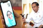 Lewat Video Call, Jokowi dengan Seorang Guru Diskusi tentang Belajar Online
