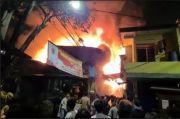 60 Bangunan di Penjaringan Jakarta Utara Ludes Terbakar