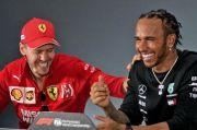 Senang Vettel Gabung Racing Point, Hamilton: F1 Butuh Pembalap Hebat