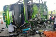 Tabrakan Beruntun Bus Sahabat dan 2 Kendaraan Tol Cipali, 2 Tewas
