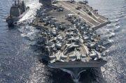 Tegang dengan China, Kapal Induk Nuklir AS Siap Latihan Perang Besar-besaran