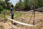Ngebor Tanah Buat Sumur, Warga Grobogan Dikagetkan Semburan Gas