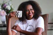 Gandeng Brand Kosmetik Vegan, Michelle Obama Produksi Lipstik