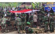 Meninggal di Papua Sertu Heri Susanto Dimakaman Secara Militer di Sleman