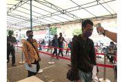 Hari Pertama PSBB, Samsat Jakbar Dipenuhi Pengunjung
