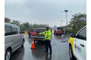 4 Kendaraan Terlibat Kecelakaan di Tol Jagorawi, POM TNI Lakukan Olah TKP