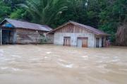 Banjir, Ratusan Warga Desa Tanjung Lay Dievakuasi ke Masjid