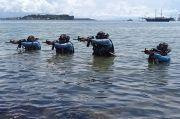 Panglima Koarmada III Ikut Latihan Puncak TNI AL Armada Jaya XXXVIII