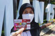 Asyik, Siswa SMA di Surabaya Dapat Bantuan Paket Internet