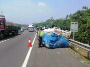 Tiga Kecelakaan Berturut-turut Terjadi di Tol Cipularang
