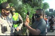 Razia Masker di Surabaya, Oknum Polisi Mengamuk Saat Ditertibkan