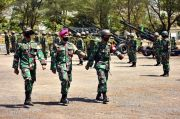 Selama Sepekan Pasukan Artileri Marinir Jalani Pertempuran Sengit