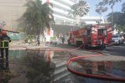 Parkir Lantai Dasar RSUD dr Soetomo Tiba-tiba Terbakar