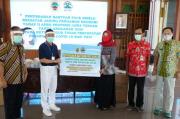 Pemkab Pati Terima Bantuan 38.080 Faceshield Karya Perempuan Penyandang Disabilitas