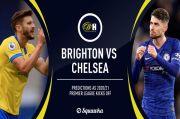 Brighton Dihantui Rekor Buruk, Chelsea Diprediksi Menang Mudah