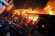 Kerugian Kebakaran Pasar Baru Bekasi Capai Rp500 Juta