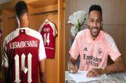 Aubameyang Perbarui Kontrak di Arsenal, Arteta Girang