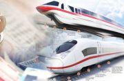 Progres Sudah 56%, Proyek Kereta Cepat Jakarta-Bandung Lanjut Terus