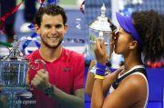 Dominic Thiem dan Naomi Osaka Wajah Tenis Dunia