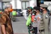 Jateng Mulai Masif Operasi Yustisi Protokol Kesehatan di Tempat Kerumunan