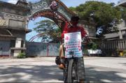 Gowes Bandung-Solo, Agus Kampanyekan Baiknya Manfaat Donor Darah
